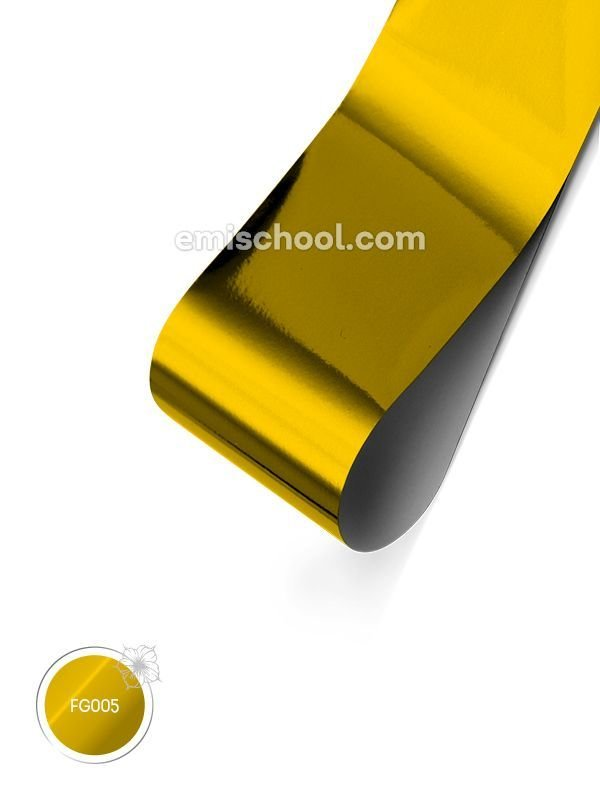 Foil glossy Gold, 1.5 m