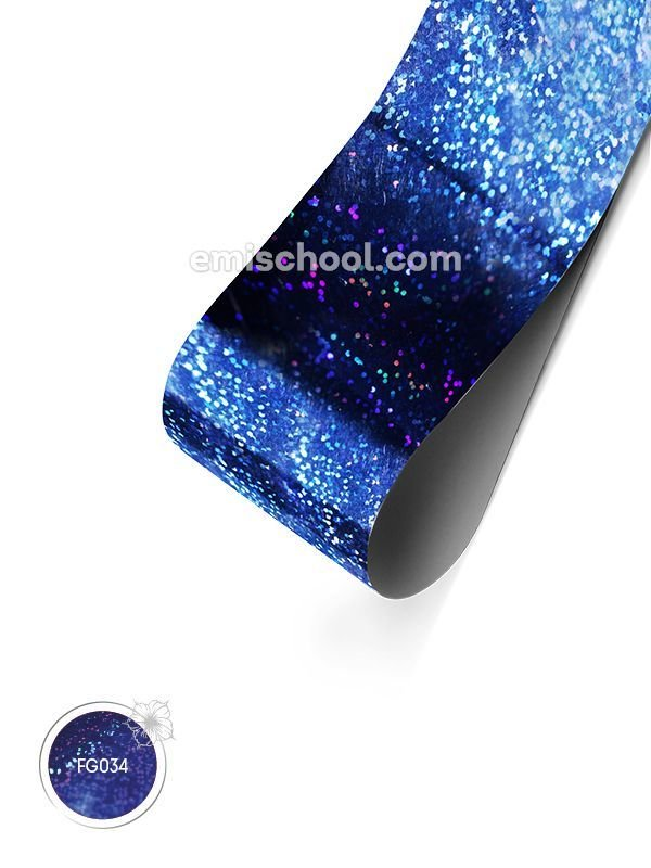 Foil holographic Dark blue Fine Point, 1.5 m