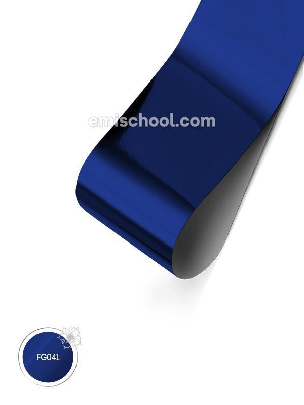 Foil glossy Cornflower Blue, 1.5 m