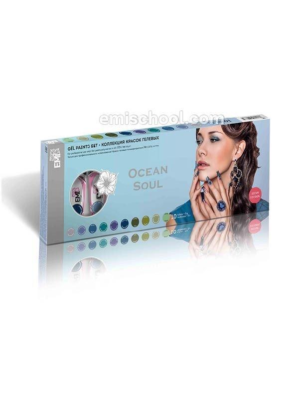 Gel paints set Ocean Soul