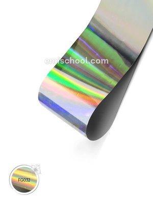 Foil holographic silver, 1.5 m