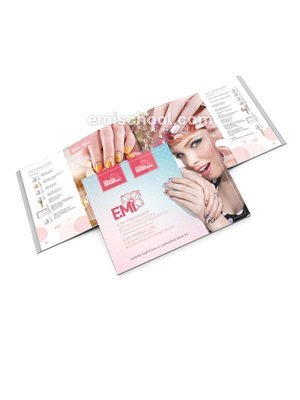 Catalogue E.Mi-manicure for beauty salons by Ekaterina Miroshnichenko. Issue #3