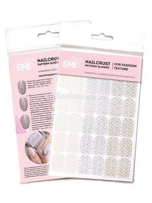 NAILCRUST Pattern Sliders Flower Garden #28