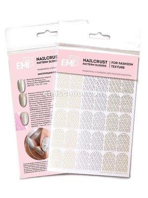 NAILCRUST Pattern Sliders Petals #29