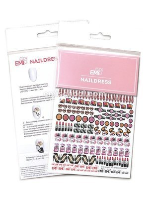 Naildress Slider Design #4 Cosmetics