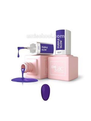 E.MiLac Purple Glow #027, 9 ml.