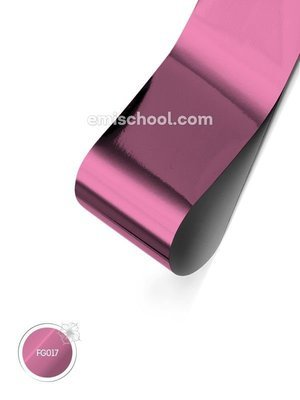 Foil glossy Pink, 1.5 m