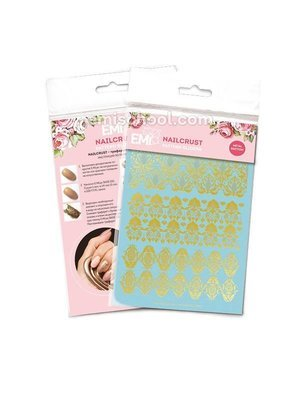 NAILCRUST Pattern Sliders Gold #20