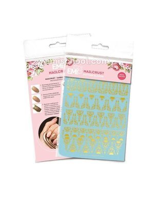 NAILCRUST Pattern Sliders Gold #17