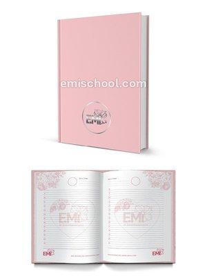 Day planner pink E.Mi