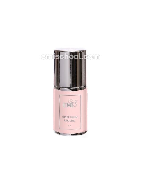 Soft Pink LED Gel in the bottle, 15ml