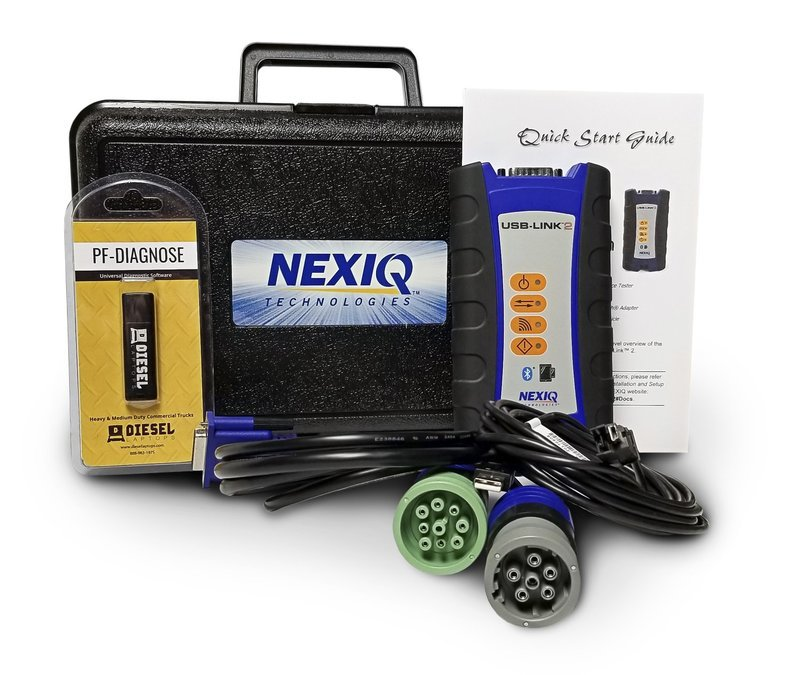 NexIQ with Pocket Fleet Diagnostic