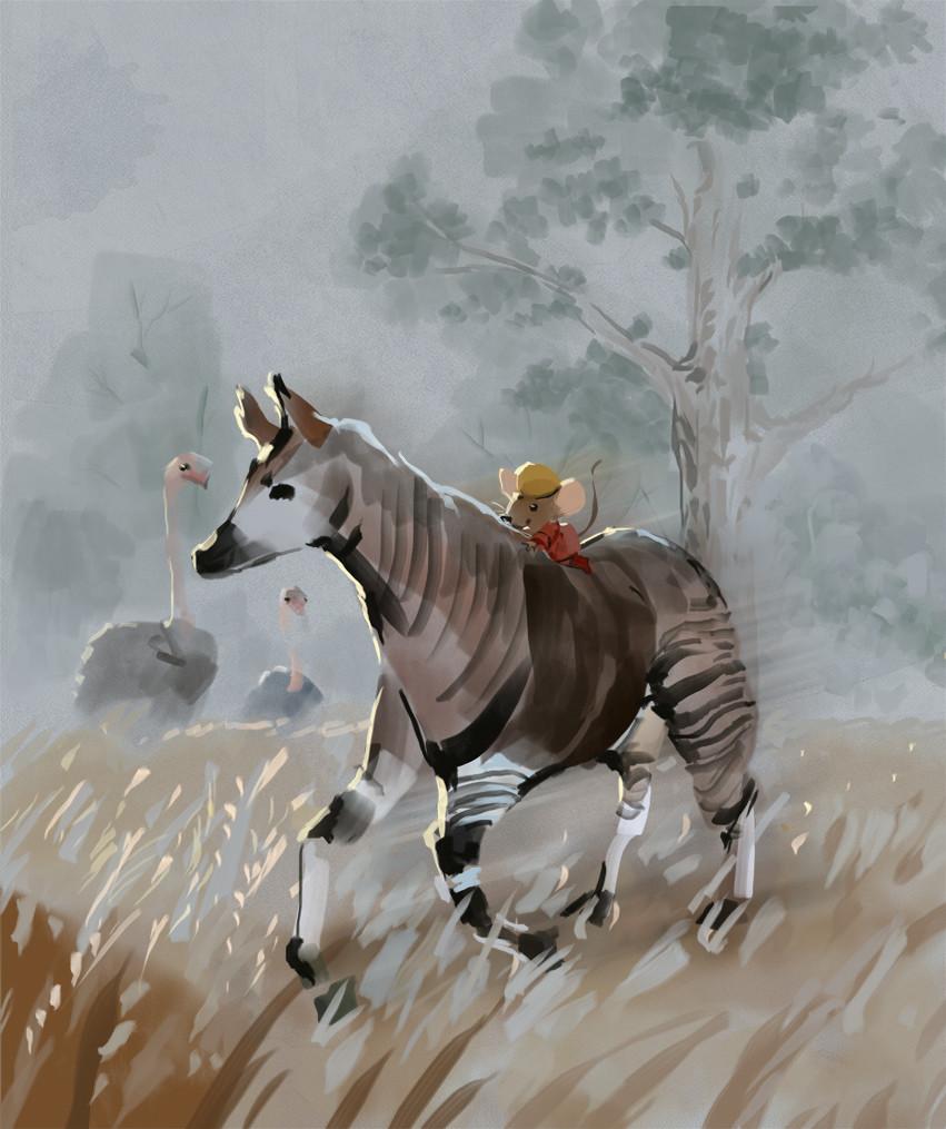 Mr Brown Mouse And The Okapi