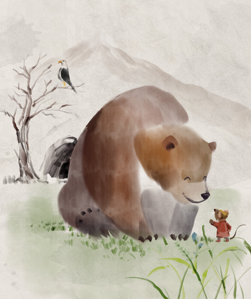 Mr Brown Mouse and the Bear AUDIOBOOK