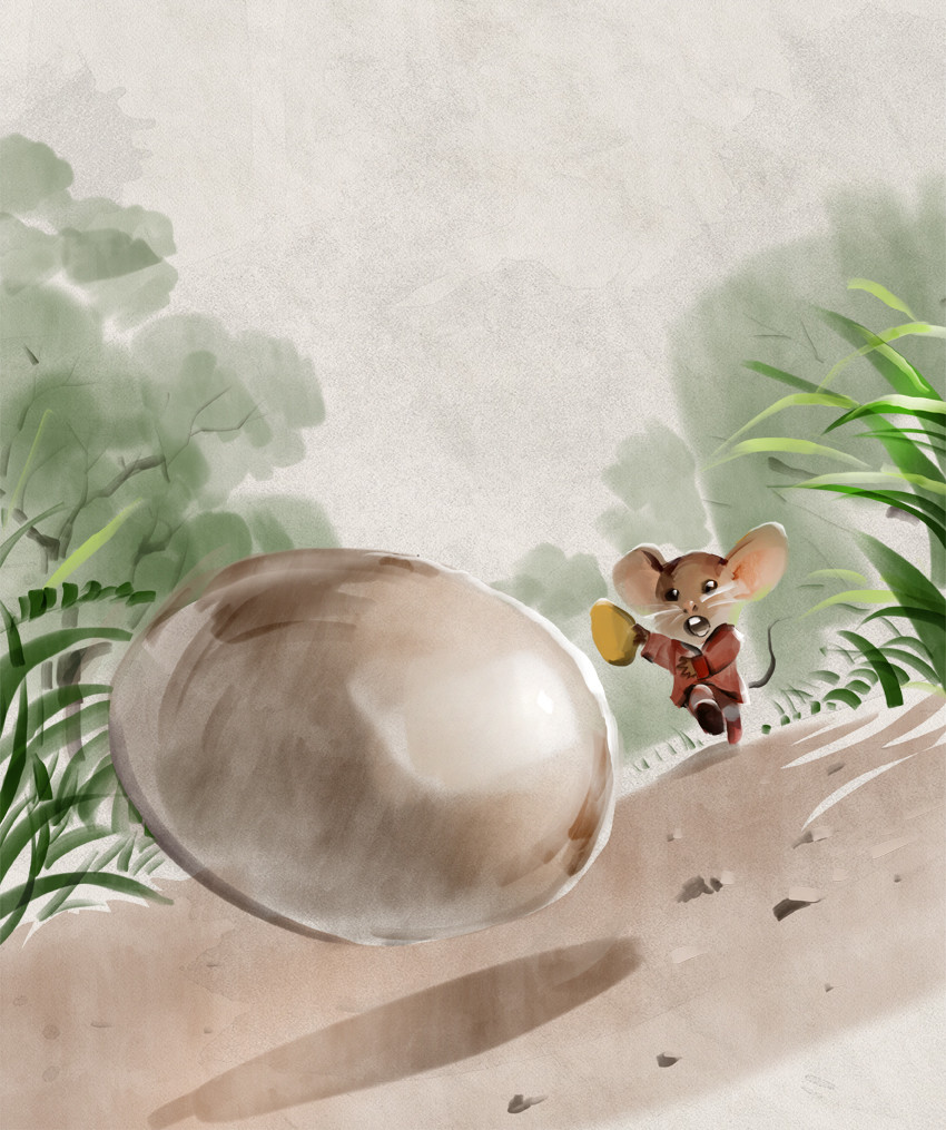Mr Brown Mouse and the Ostrich Egg