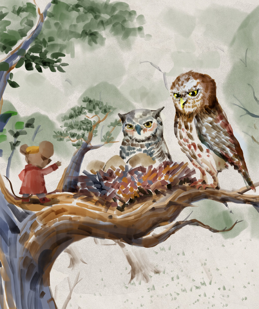 Mr Brown Mouse and the Owl Babies