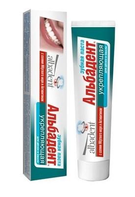Зубная паста Альбадент Укрепляющая