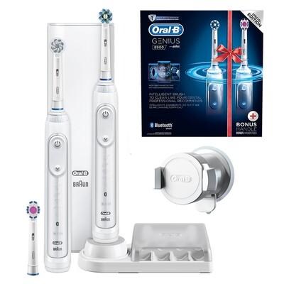 Набор из двух электрических зубных щеток ORAL-B Genius 8900/D701.535.5HXC
