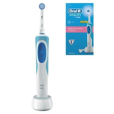 Электрическая зубная щетка Oral-B Vitality Sensitive Clean