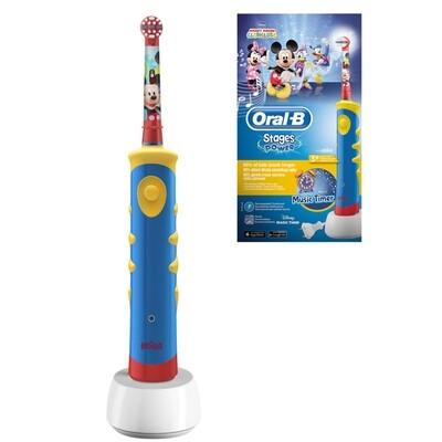 Электрическая зубная щетка Oral-B Kids Power Mickey (с 3 лет)
