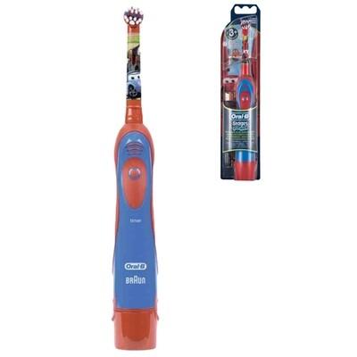 Электрическая зубная щетка Oral-B Stages Power DB 4010/4510 Тачки (с 3-х лет) на батарейках