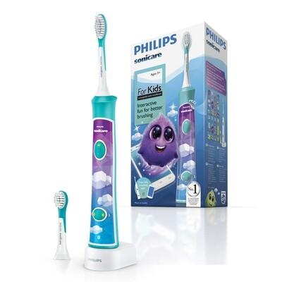 Электрическая зубная щетка Philips Sonicare For Kids HX6322/04 (HX6392/02) с поддержкой Bluetooth