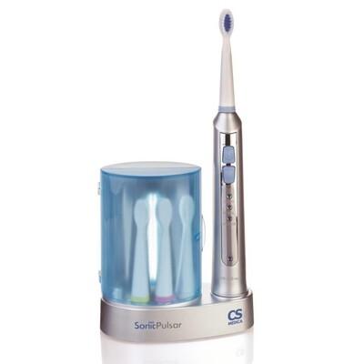 Электрическая звуковая зубная щетка CS Medica CS-233-UV с УФ дезинфектором