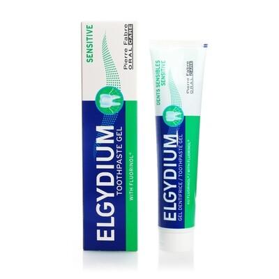 Зубная паста ЭЛЬГИДИУМ СЕНСИТИВ с флуоринолом, 75 мл