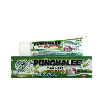 Зубная паста растительная Панчали Punchalee Herbal, 35 гр