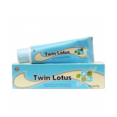 Зубная паста TWIN LOTUS морская свежесть с натуральными травами, 40 гр