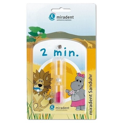 Песочные часы на присоске Miradent Timer