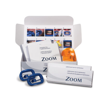 Клиническое отбеливание Zoom на 2 пациентов