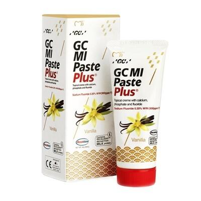 GC MI Paste Plus - крем c фтором, для реминерализации и снижения чувствительности Ваниль, 40 г