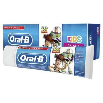 Зубная паста ORAL-B Kids для детей Легкий вкус ИСТОРИЯ ИГРУШЕК  75 мл