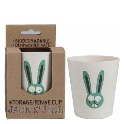 Jack'n'jill стаканчик для полоскания Кролик