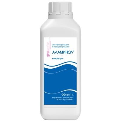 Аламинол - дезинфицирующее и моющее средство, Концентрат, 1л.