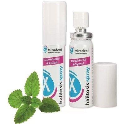 Освежающий спрей для полости рта Miradent Halitosis spray 15 мл