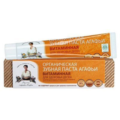 Рецепты бабушки Агафьи Зубная паста Витаминная, 75 мл