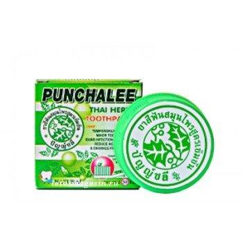 Зубная паста растительная Панчали Punchalee Herbal, 25 гр