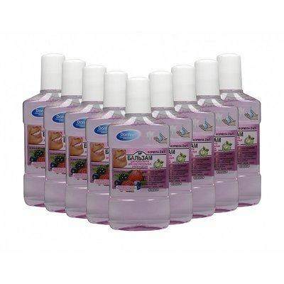 10 бальзамов для ирригатора Donfeel Для чувствительных зубов и десен с ароматом малины