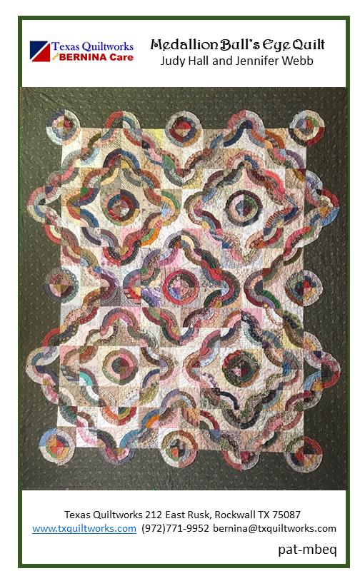 Bull's Eye Quilt-Printed pat-mbeq