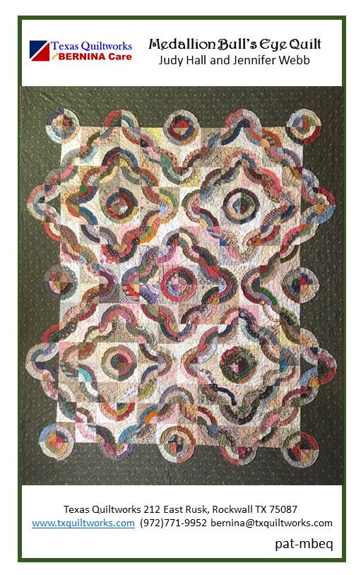 Bull's Eye Quilt-Printed