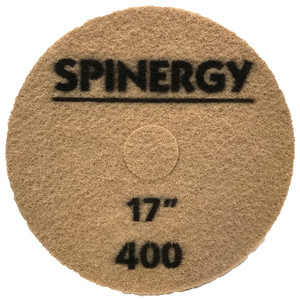 "Spinergy Stone Polishing Pad - 17"" Black (400 Grit)"