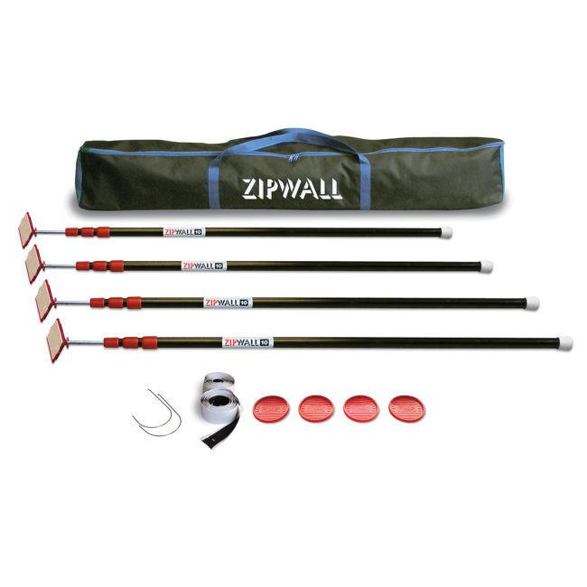 ZipPole® ZipWall® 10 – 4-Pack
