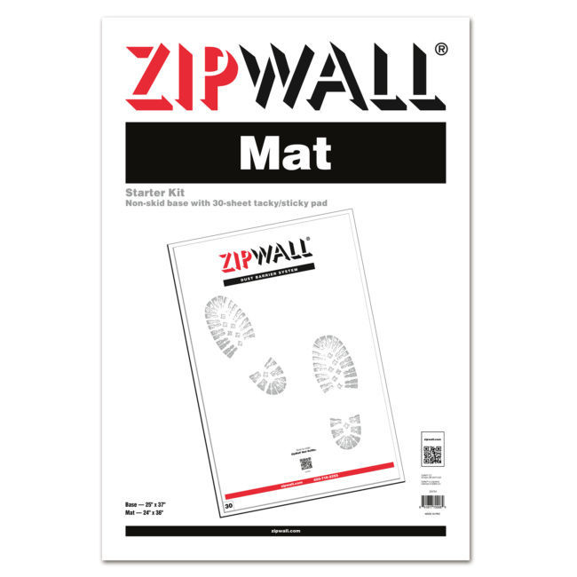 ZipWall Mat Starter Kit (30 sheets)