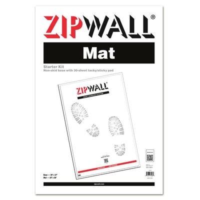 ZipWall Mat Starter Kit (30 sheets)
