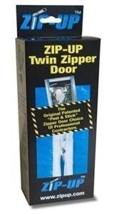 Zip-Up Twin Zipper Door (2 pack)
