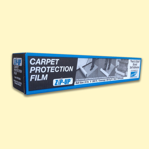 """Carpet Protection Film by ZipUp  