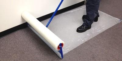 Zip-Up Carpet Film Applicator for Carpets (36