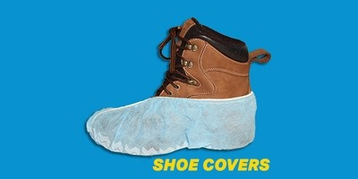 Zip-Up Shoe Covers (Pack of 300)